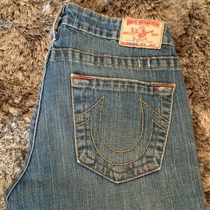 Ladies True Religion Bobby Flare Jeans
